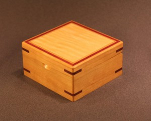 This keepsake box is similar to the one Jacob makes for Laura in Temptation.
