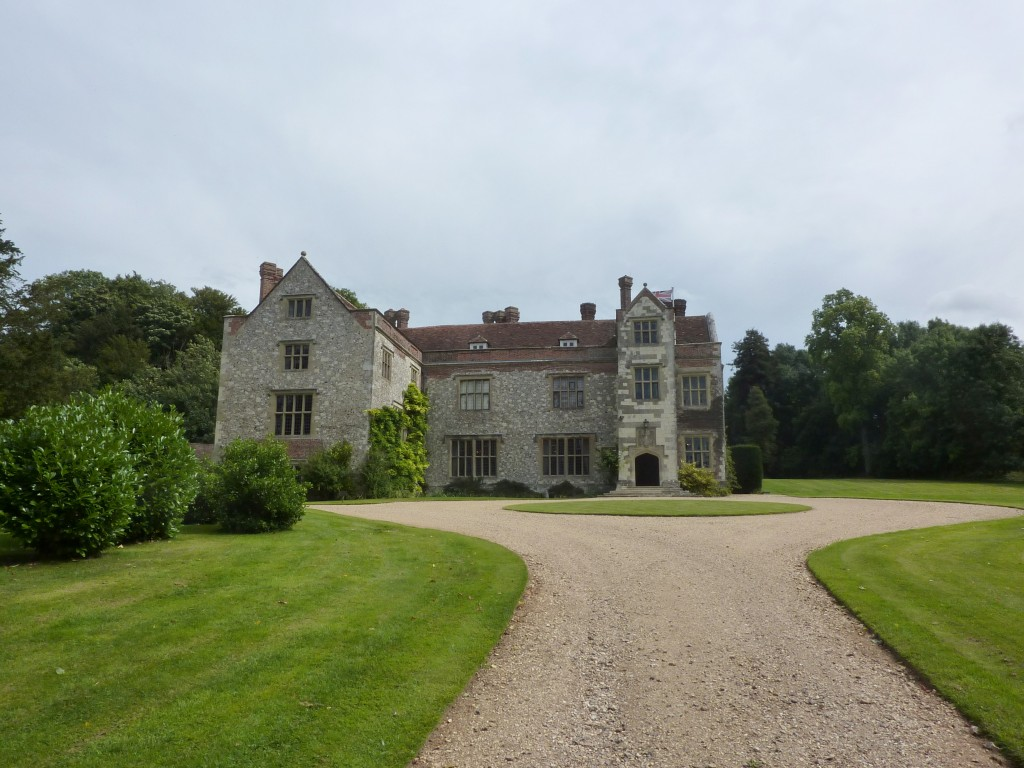 Chawton House, now Chawton House Library, home of Edward Knight, Jane's brother.